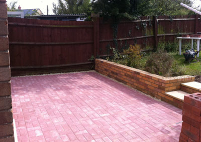 New Patio Area, Brackley