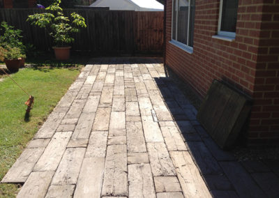 Patio, Brackley