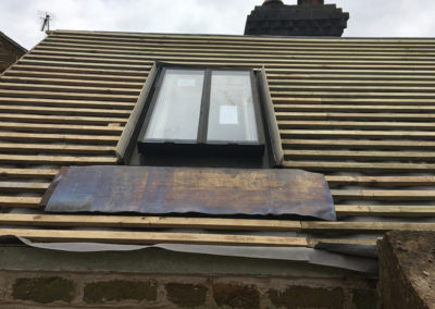 New roof & window